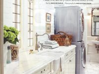 Elegant Laundry Room Project written up in House & Home